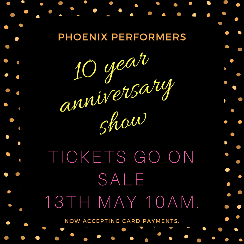 Tickets on sale 13th May 2017!