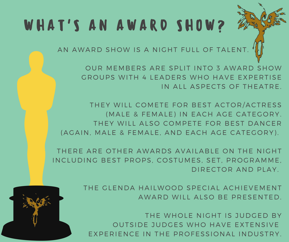 What's an award show?