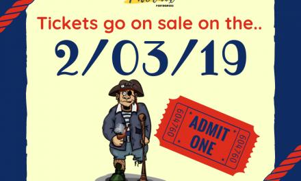 Treasure Island Tickets // 2-03-2019 // 🎟