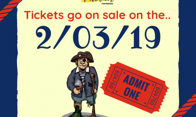 Treasure Island Tickets // 2-03-2019 // 🎟