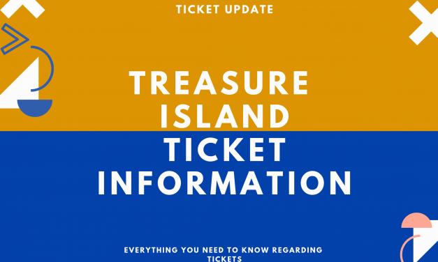 IMPORTANT: Treasure Island Tickets 🎫
